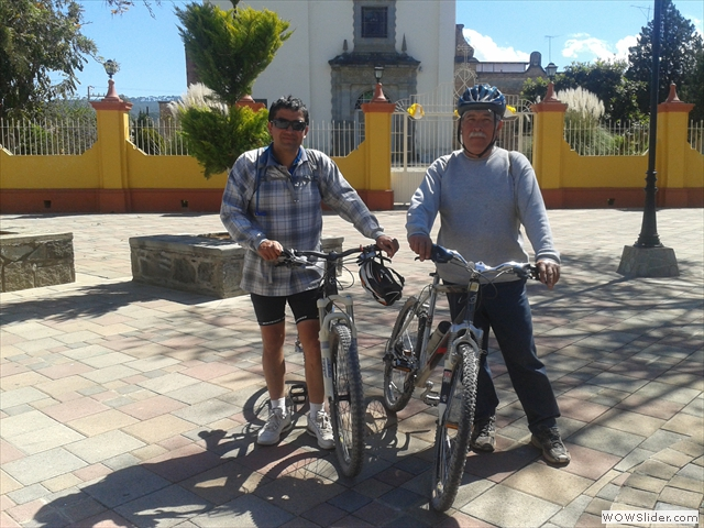 Don Jose y Yo en Union De Guadalupe